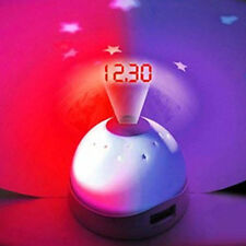 Time Projection LED Digital Table Clock Sky Night Projector