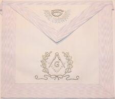 Master Mason Masonic Regalia Mm White Apron