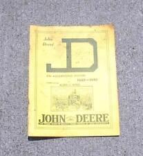 (97-006) John Deere Advertising History 1889-1940