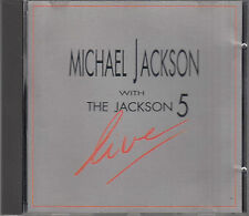Michael Jackson With The Jackson 5 Live CD FASTPOST