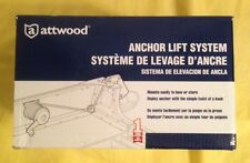 Attwood Boat Anchor Lift System 13710-4, New- Easy To  Install Hand Winch
