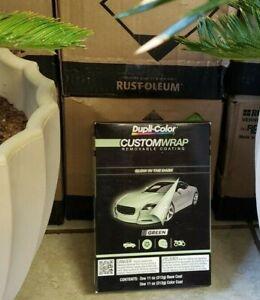 Dupli-Color CWRC871 Custom Wrap Glow In The Dark Green Removable Coating Kit