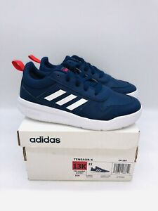 Adidas Kids Young Boys Tensaur Lace Up Sneaker Navy US 13K