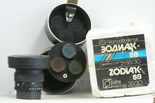 Russian Zodiak 30mm F3.5 Ultra Wide Lens with Case & 4x Filters for Kiev Camera