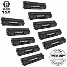 10Pk Black Laser Ink Printer Toner Cartridge for HP CE278A 78A M1536dnf 278A