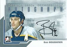 (HCW) 2013-14 ITG Decades 1990's BOB BOUGHNER Autograph Auto In The Game 00464