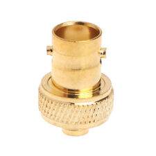 Straight BNC Female Jack to SMA Female RF Coaxial Connector Adapter Gold Plated