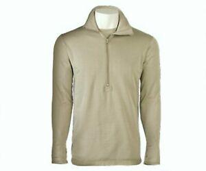 USGI Polartec Level 2 Gen III  ECWCS Waffle Mid Weight Shirt  Medium  Long