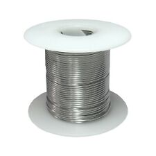 "14 AWG Gauge Stainless Steel 316L Wire 100' Length 0.0640"" Diameter"