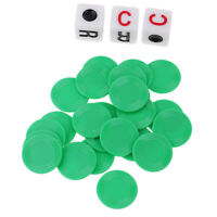 Ensemble de puces de poker de style 23pcs Casino Style avec 3pcs Dice for