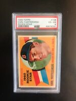 1960 TOPPS #148 PSA 4 CARL YASTRZEMSKI HOF BOS RED SOX— HOT ROOKIE🔥*** (wph)