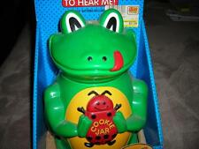 The Original FROG Cookie Jar  wi/Sound by Fun-Damental Too-1998-Rare NEW in Box
