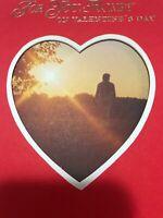 Unused Vintage Valentines Day Card Hallmark 70s Sunset Photo Honey W/envelope