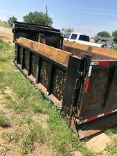 15 ft. Used Dump Truck Bed/ Box/ Body- Incl. 3 stage cylinder and hydraulic tank