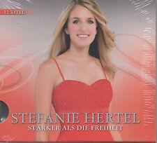 Stefanie Hertel Stärker als die Freiheit CD NEU Ganz Einfach was verrücktes tun