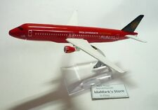 AIR ASIA AIRLINES QZ D7  Die cast Model Airbus A320 Manchester United Plane Toy