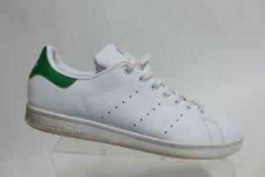 ADIDAS Stan Smith White/Green Sz 13 M Men Leather Sneakers