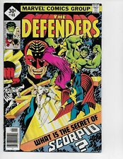 DEFENDERS 48 - F/VF 7.0 - EARLY MOON KNIGHT APPEARANCE - NICK FURY(1977)