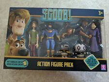 Scooby-Doo SCOOB! Action Figures 6 Figure Multi Pack UK IMPORT RARE!!