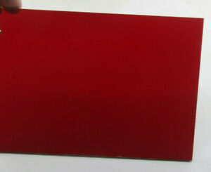 """8x10"""" Red Safelight Filter  - 1/8"""" Thick Plastic - for Photo Darkroom - NEW F07"""