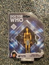 Doctor Who Leela from The Face of Evil Action Figure Underground Toys New MINT