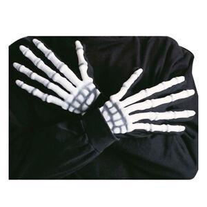 Skelett Handschuhe Halloween Skeletthandschuhe Knochenhandschuhe Horror Hände