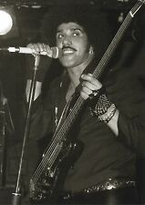 THIN LIZZY PHOTO PHIL LYNOTT  MARQUEE 1984 UNRELEASED UNIQUE IMAGE HUGE 12 INCH
