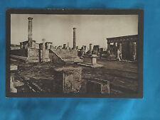 Temple of Apollo Pompei Italy Vintage Postcard A. Scrocchi Milano