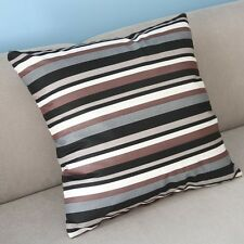 "Multi-color Stripes Cushion Cover Throw Pillow Case Sofa Decor 20"" Square PI39"