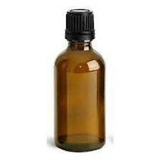 Essential Oil Empty Glass Amber Bottle with Euro Dropper 30 ml (1 oz)