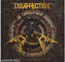 DISAFFECTION - BEGIN THE REVOLUTION (CD, 2010, Bombworks) Christian Thrash Metal