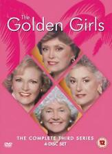 The Golden Girls Complete 3rd Season Dvd Brand New & Factory Sealed