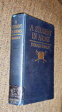 A Student In Arms,Donald Hankey,XLIB,1917,11th Printing   C