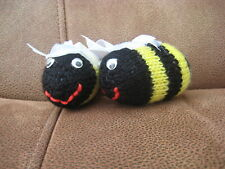 Carefully Hand Knitted Bees