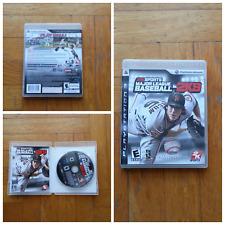 MLB Major League Baseball 2K9 09 2009 PS3 NEW Sealed