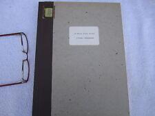 Le Temps d'une chasse Classic French Film Vintage Script Francis Mankiewicz 1978