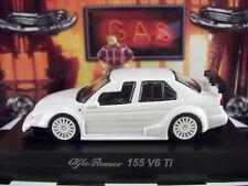 KYOSHO ALFA ROMEO 155 V6 Ti WHITE ALFA ROMEO COLLECTION 4 SCALE 1:64