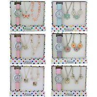 Relda Jewellery & Watch Childrens Necklace Bracelet Kids Gift Set xmas Girls
