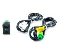 Radio Adapter Kabel AUX Einbau Buchse VW RCD510 RCD310 Stecker