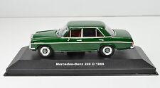 Mercedes-Benz 200 D Año fabricación 1968 verde Escala 1:43 de Solido