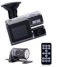 1080p DVR 170° Car Dash Cam Recorder LED Night Vision G-sensor+HD Rear Camera