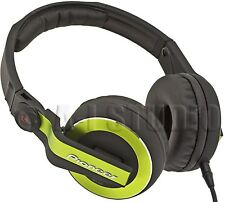 PIONEER HDJ-500G PRO/PROFESSIONAL/AUDIO/MUSIC ON-EAR DJ HEADPHONES SWIVEL GREEN