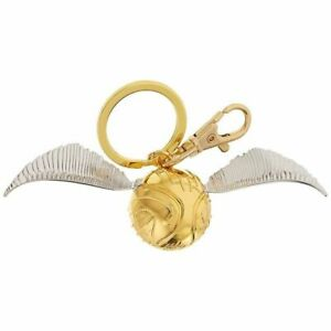 OFFICIAL HARRY POTTER GOLDEN SNITCH 3D OPENING KEYRING KEYCHAIN LOCKET