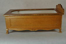 Dollhouse Miniature 1:12 Scale Walnut Bath Tub #30102WN