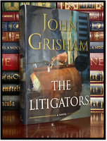 The Litigators ✍SIGNED✍ by JOHN GRISHAM New Hardback 1st Edition First Printing