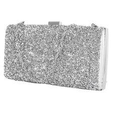 Women Lady Glitter Clutch Bag Purse Evening Party Bridal Prom Handbag Chain