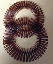 Accessoires de coiffure bandeaux marrons en tissu pour femme