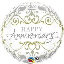 Happy Anniversary Classic Foil Balloon Anniversary Gift Party Supplies Decor