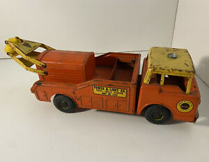 1960'S VINTAGE NYLINT POWER & LIGHT POSTHOLE DIGGER TRUCK ALL ORIGINAL NO. 3300