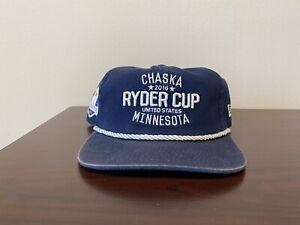 Ryder Cup Hat Hazeltine 2019 Snapback Rope